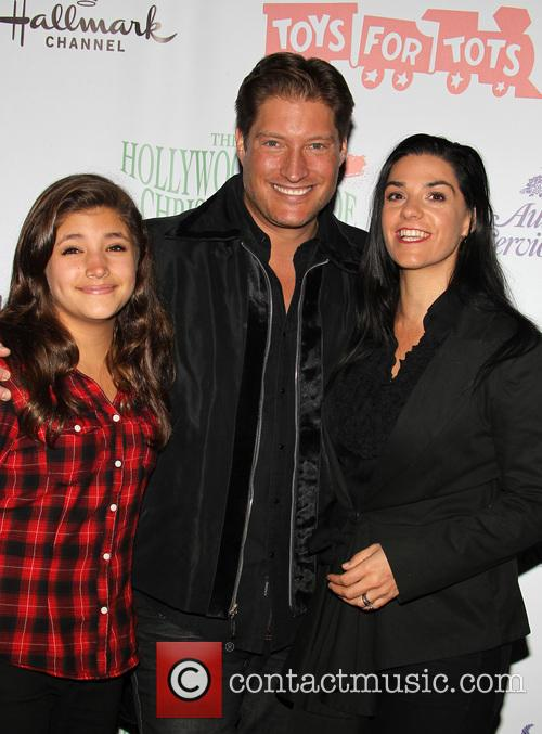 Sean Kanan, Simone Andrea Kanan and Michele Vega 2
