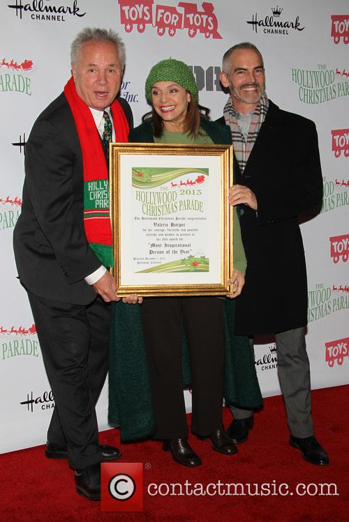 Tom Labonge, Valerie Harper and Mitch O'farrell