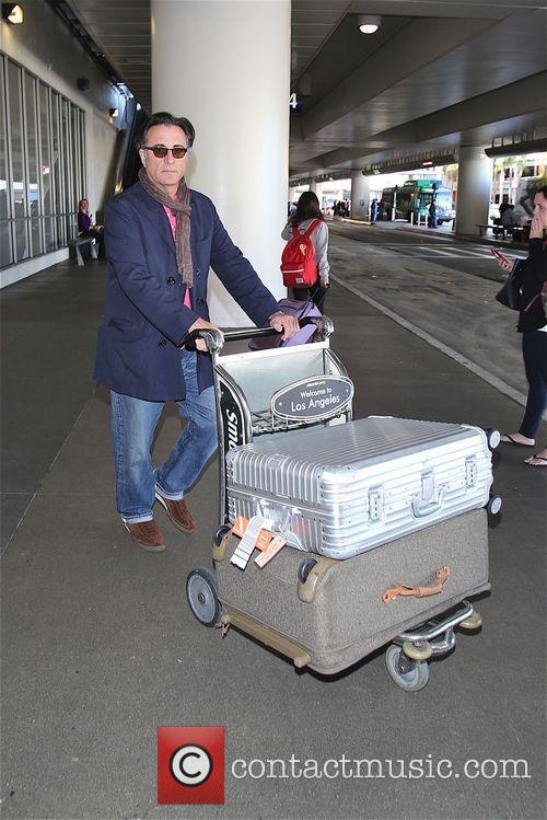 Andy Garcia arrives at LAX