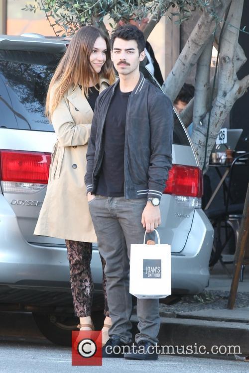Joe Jonas and Blanda Eggenschwiler at Joans on...