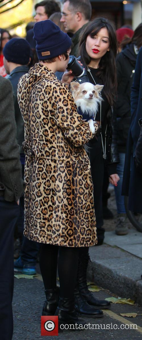 Pixie Geldof and Daisy Lowe 2