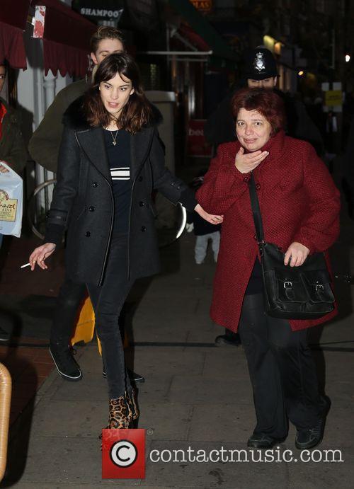 Celebrities at the Primrose Hill Winter Fair