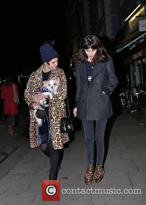 Alexa Chung and Pixie Geldof 2