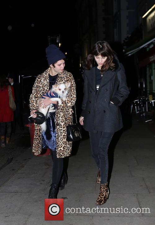 Alexa Chung and Pixie Geldof 6