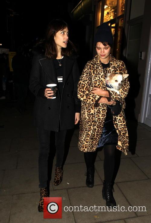 Pixie Geldof and Alexa Chung 4
