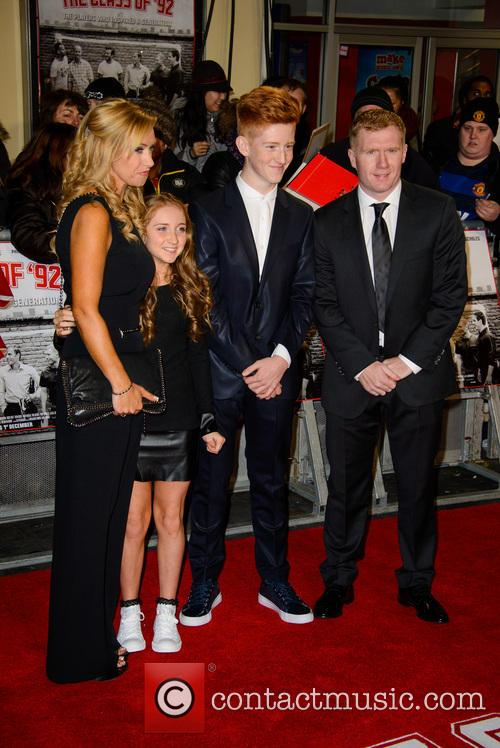 Paul Scholes and Claire Froggatt 2