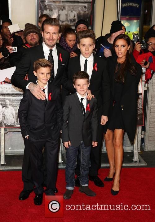 Beckham Family NYFW