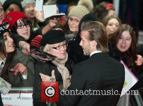 David Beckham, Odeon West End