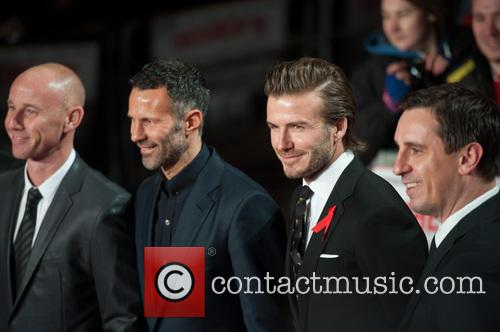 Nicky Butt, Ryan Giggs, David Beckham and Gary Neville 11