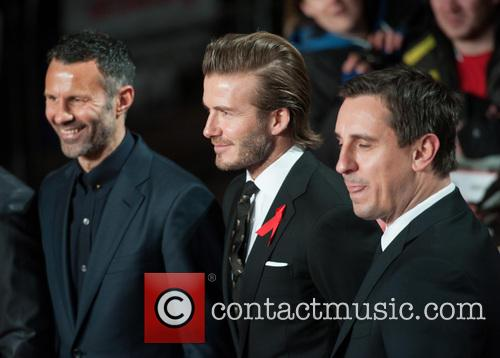 Ryan Giggs, David Beckham and Gary Neville 10