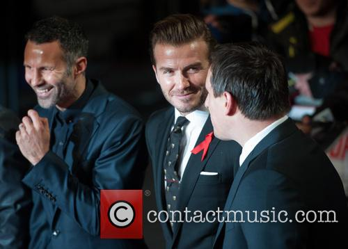 Ryan Giggs, David Beckham and Gary Neville 11