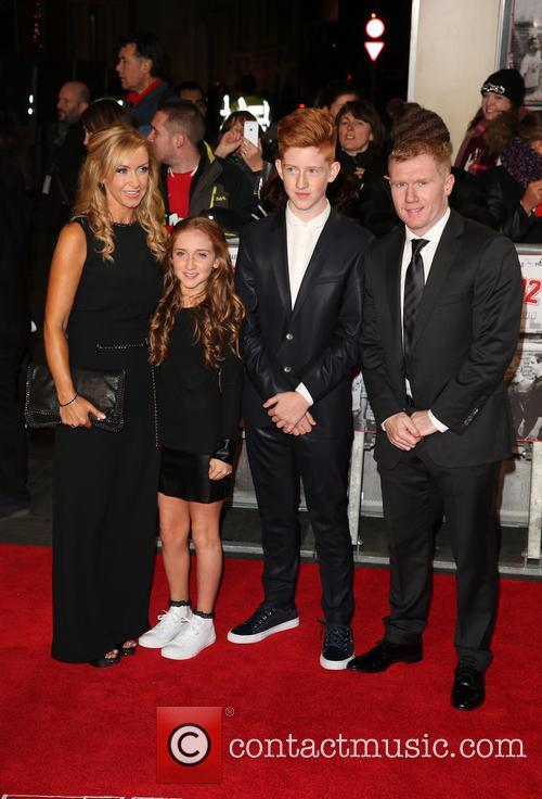 Paul Scholes, Claire Froggatt and Children
