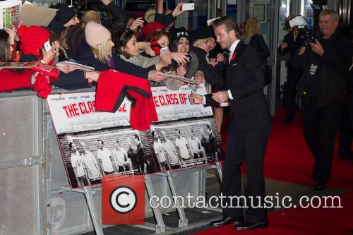 David Beckham, Leicester Square, Odeon West End
