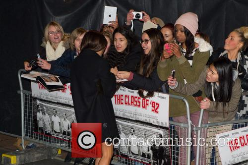 Victoria Beckham, Leicester Square, Odeon West End