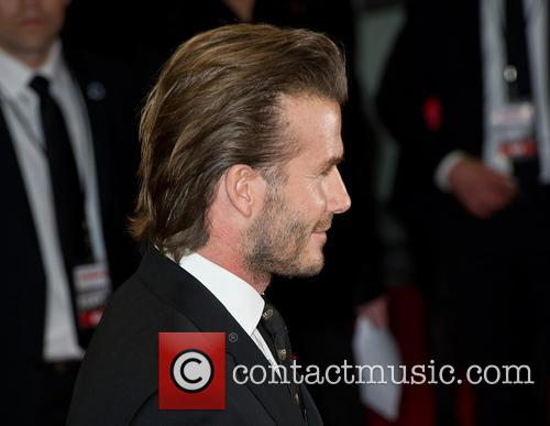 david beckham the world premiere of the 3977925