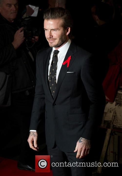 david beckham the world premiere of the 3977938