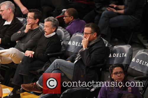 andy garcia celebrities at the lakers game 3977234