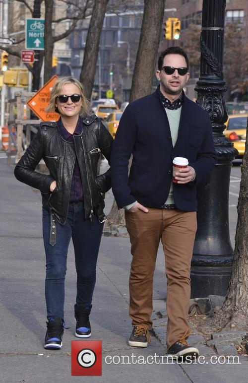 Amy Poehler and Nick Kroll 5
