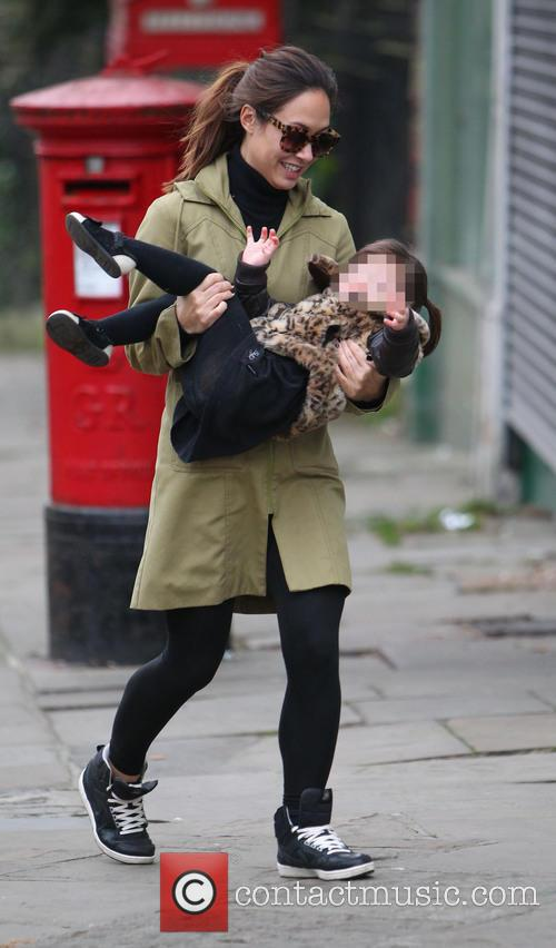 Myleene Klass and Hero Harper 4