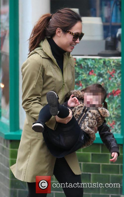 Myleene Klass and Hero Harper 5