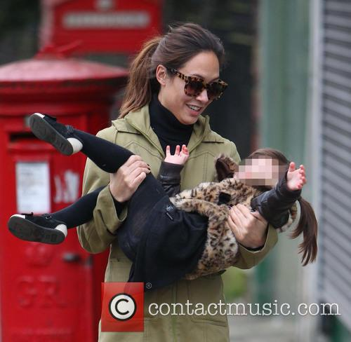 Myleene Klass and Hero Harper 8