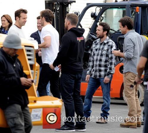 Jason Sudeikis, Chris Pine, Jason Bateman and Charlie Day 9