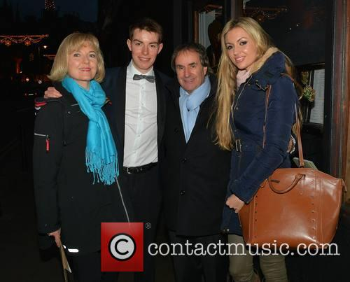 Chris De Burgh, Michael Davison, Diane Davison and Rosanna Davison 1