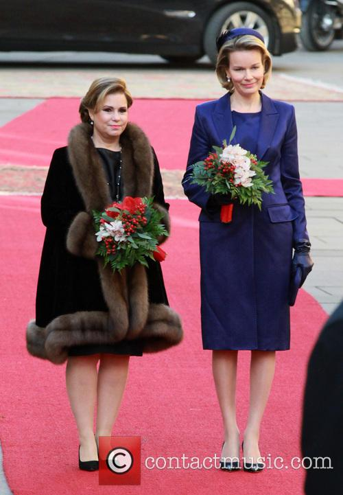 The Luxembourg royals on a state visit