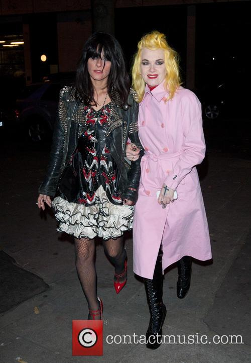 Pam Hogg and Guest 2
