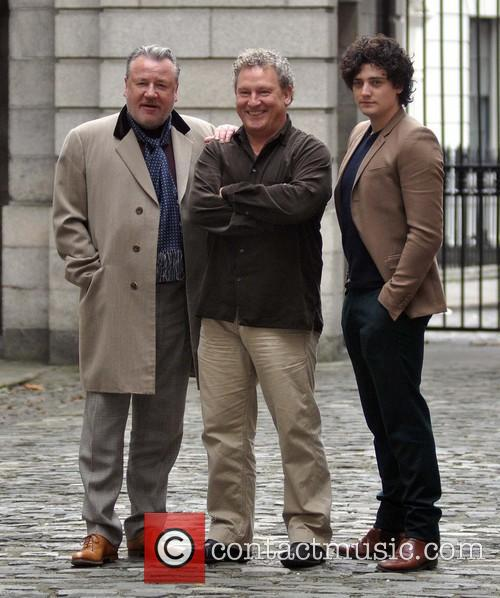 Ray Winstone, Ashley Pharoah and Aneurin Barnard 2