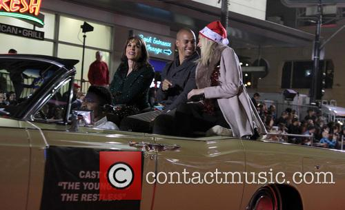 Kate Linder, Bryton James and Melissa Ordway 2