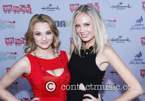 Hunter King and Melissa Ordway