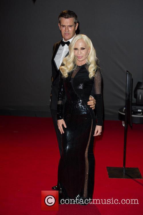 Donatella Versace and Rupert Everett 1
