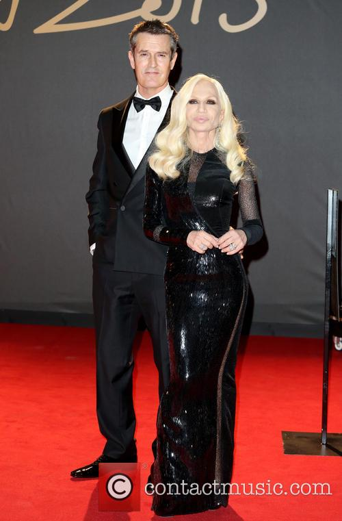 Rupert Everett and Donatella Versace 4