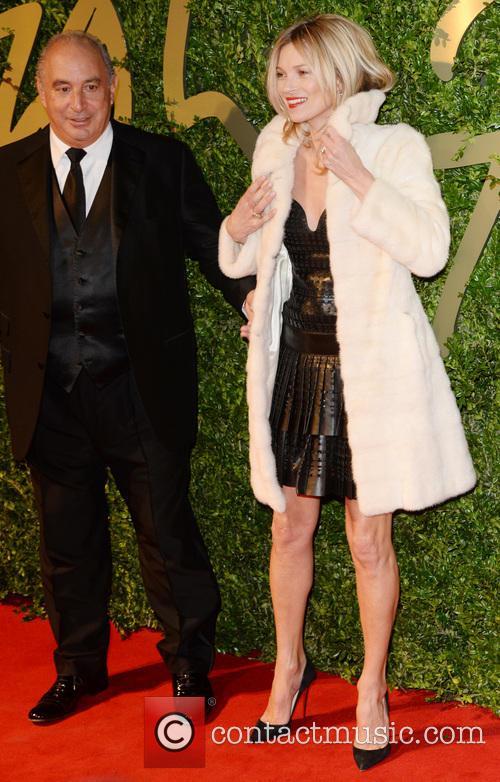 Kate Moss, Philip Green, British Fashion Awards