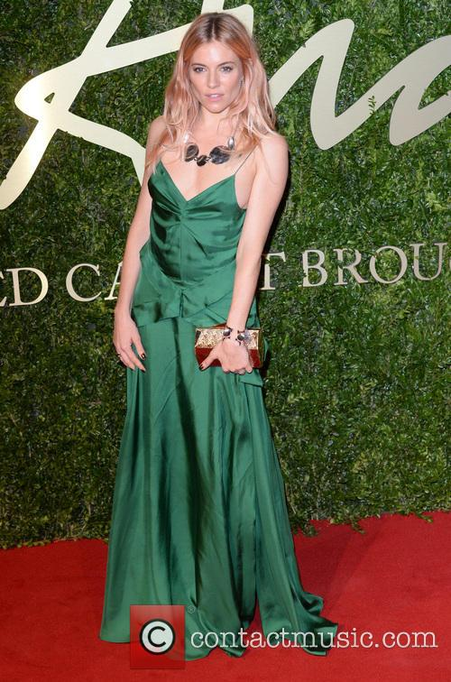 Sienna Miller, British Fashion Awards 2013