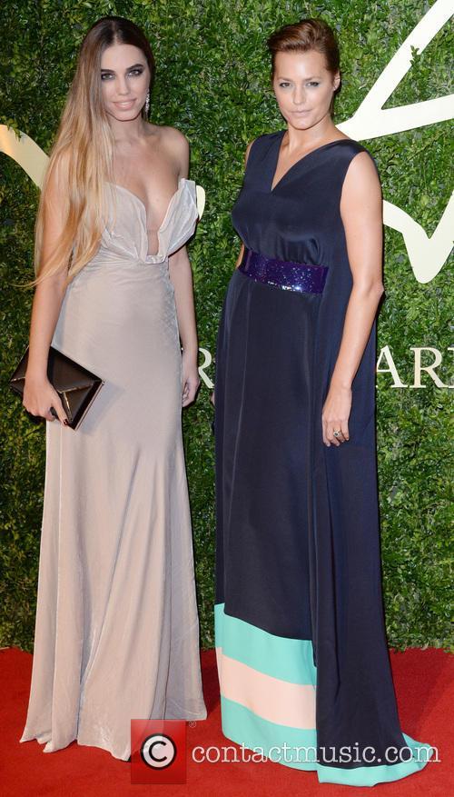 Yasmin Lebon and Amber Lebon 2
