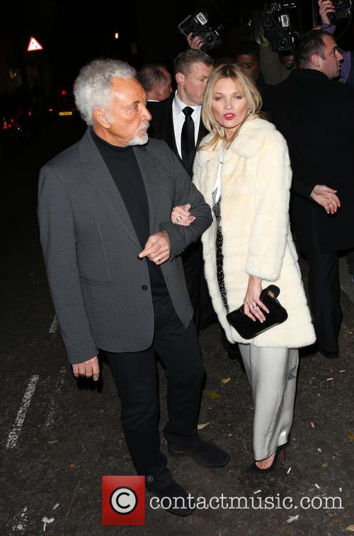 Kate Moss and Tom Jones 5