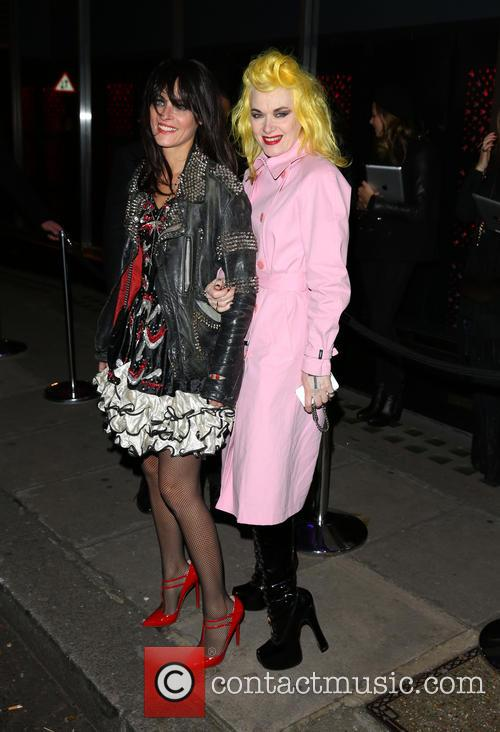 pam hogg guest playboys 60th anniversary issue party 3979452