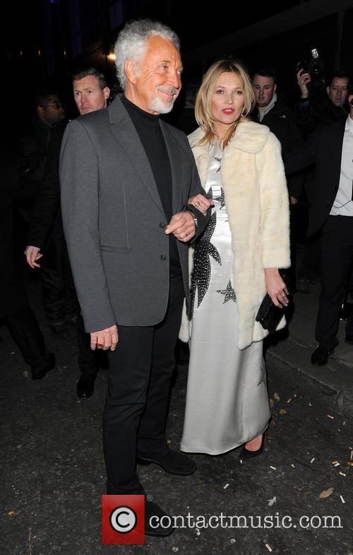 Kate Moss and Tom Jones 7