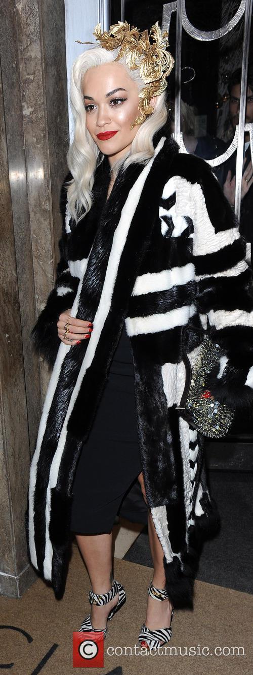 Rita Ora Claridges