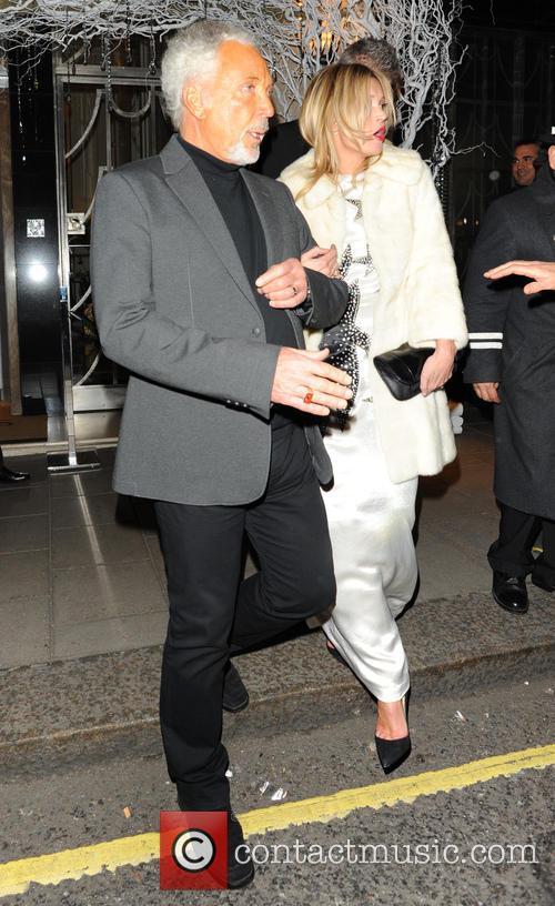 Celebrities At Claridge's Hotel