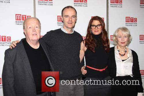 John Aylward, Brian F. O'byrne, Debra Messing and Dearbhla Molloy