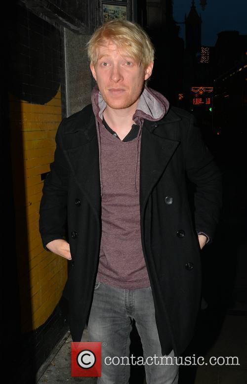 Domhnall Gleeson seen sporting bleach blonde hair