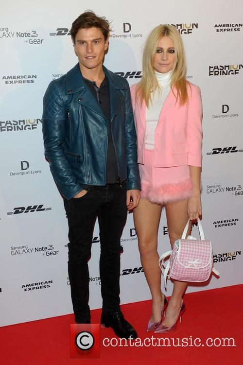 Oliver Cheshire and Pixie Lott 4
