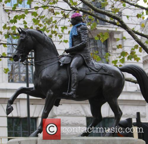 George 3 statue
