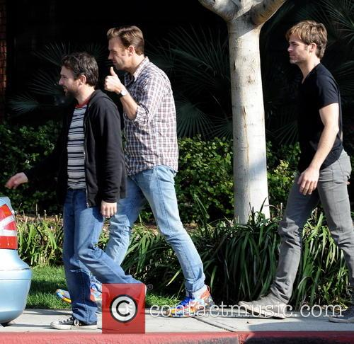 Jason Sudeikis, Chris Pine and Charlie Day 3
