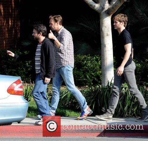 Jason Sudeikis, Chris Pine, Charlie Day