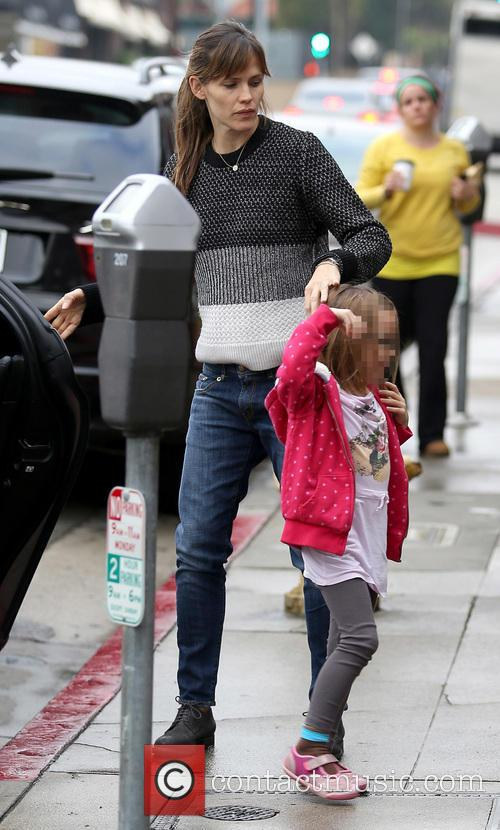 Jennifer Garner and Seraphina Affleck 12