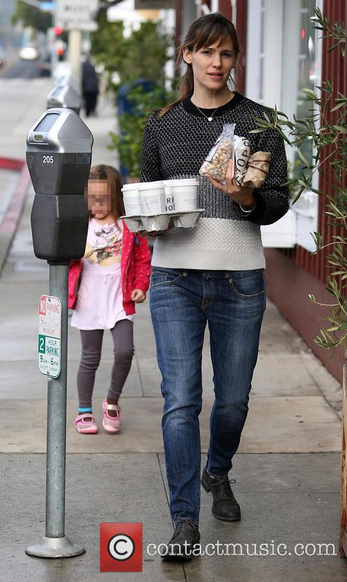 Jennifer Garner and Seraphina Affleck 14